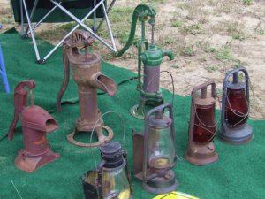 Yard sale antiques