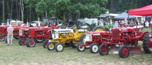 Farmall Tractor display