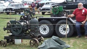 Bring Your Antique engine to exhibit.