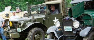 vintage military truck- 2018